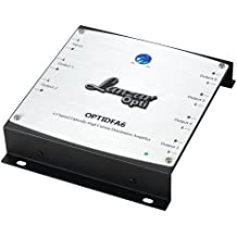 6-Channel High Current Distribution Amplifier - with RCA Input and 6 Isolated Stereo Outputs - For Car Speakers, Accommodates up to 3 Separate Amps - Lanzar OPTIDFA6