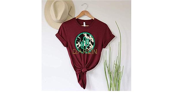 Cowhide Cactus Boho Western Shirt Western Boho Shirt