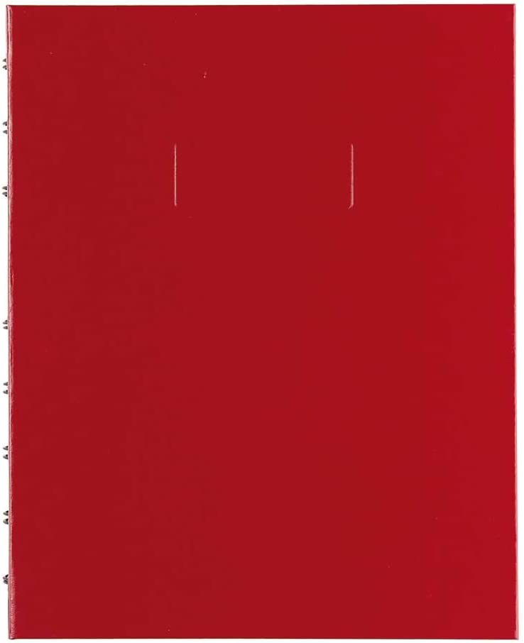 Blueline MiracleBind Notebook, Red, 9.25 x 7.25 inches, 150 Pages (AF9150.43)