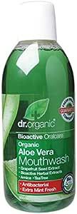 DR ORGANIC Mouthwash Organic Aloe Vera, 500mL