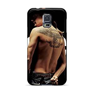 Luoxunmobile333 Samsung Galaxy S5 Shockproof Cell-phone Hard Cover Provide Private Custom High Resolution Kid Rock Band Pictures [Abh2250BXUs]