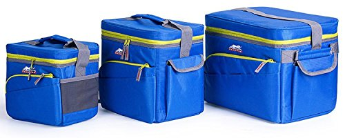 Leopard Outdoor Combo Cooler Bag with Hard Liner (Pack of 3) Great for Traveling, Picnics, Camping, BBQs, Sporting Events by Leopard Outdoor Products