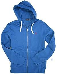 Polo Ralph Lauren Men\u0026#39;s Classic Full Zip Hooded Sweatshirt Fleece Hoodie L