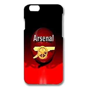 Iphone 6 ( 4.7 Inch ) Case 3D Arsenal Football Club Hot Logo Pattern Specialized Back Cover Protector