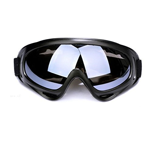 Ciclismo Gafas de set sol Moto clear UV400 Protección gris GL 3pcs amp;yellow Deportivas Gafas amp;grey Andux 04 de Zone wqxHBpHt