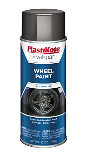 Wheel Charcoal - PlastiKote 626 Charcoal Gray Wheel Paint - 12 oz.