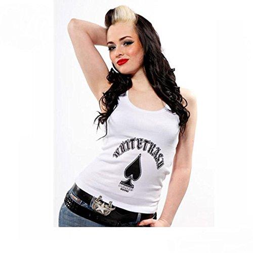 Toxico Damen Tank Top - Whitetrash weiss