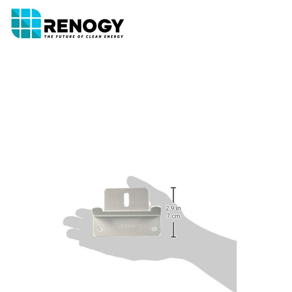 Renogy 4 Sets of Solar Panel Mounting Z Brackets for RV, Boat, Wall and Other Off Gird Roof Installation, 4 Pack by Renogy (Image #8)