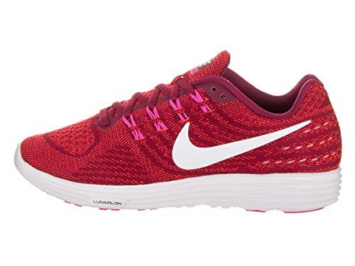 Nike Kvinnor Lunartempo 2 Löparsko Nbl Rd / Vit Brght Crmsn Pnk B