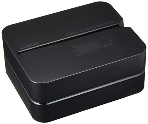 Casio CWE60 - Casio CW-E60 Disc Title Printer