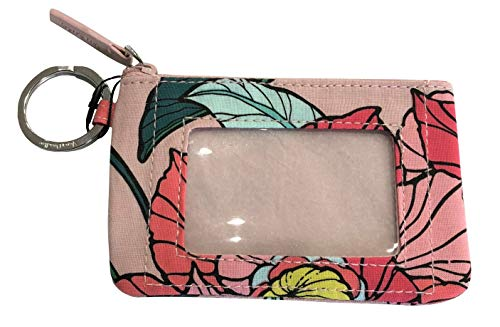Vera Bradley Women's Zip ID Case (Vintage Floral)