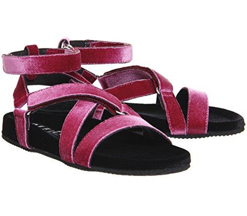 Superstylin' Velvet Sandals Pinkblack Office Office Superstylin' ESxZqq