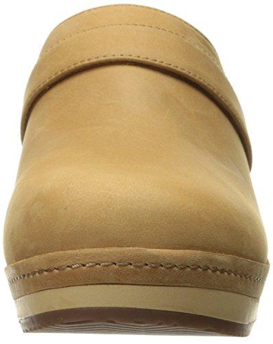 Clog Leather Camel Crocs Sarah Chaussure AFRzn4qS