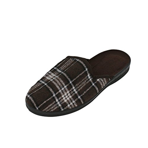 brandsseller Men's Slippers grey / brown diDNU