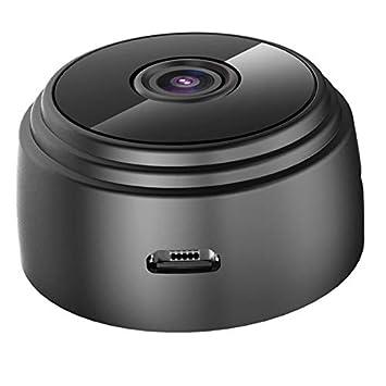 Mini Kamera Bewegungserkennung FHD 1080P /Überwachungskamera Aussen WLAN WiFi Kleine Tragbare Drahtlose Home Security /Überwachung Kleine Kamera mit Nachtsicht Remote View