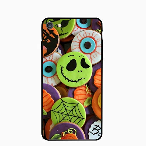 Personalized Halloween Cookies Holiday PC Cellphone case for iPhone 7 Case iPhone 8 Case