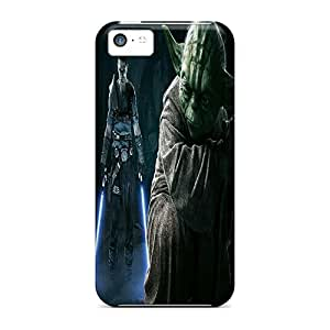 Jeffrehing NHbVJQn1148mqLiR Case Cover Iphone 5c Protective Case Force Unleashed