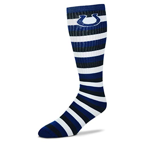 Indianapolis Colts Stripe - Indianapolis Colts 511 Stripes Socks Large - Fits 10-13