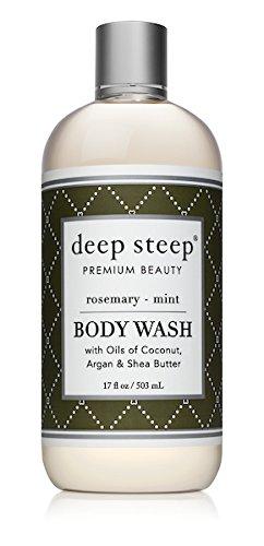 Deep Steep Body Wash, 17 Ounce (Rosemary (Lavender Mint Body Wash)