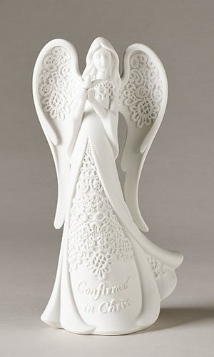 8.1'H Lace Confirmation Angel by Roman