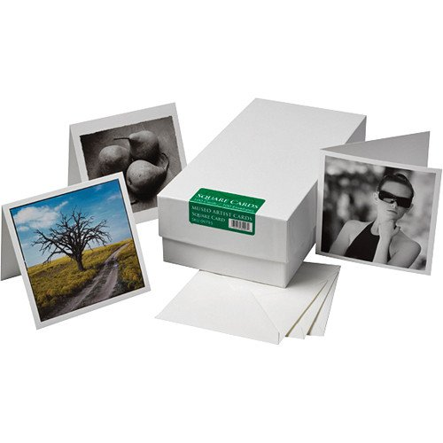 Museo Inkjet Artist Cards - Square (24 Cards & Envelopes) Museo Artist Card Envelopes