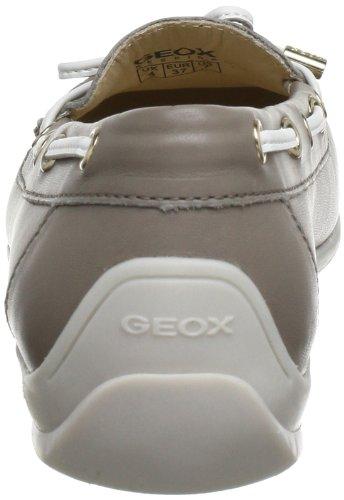 Geox Textil D YUKI A D3255A00043C8014 - Mocasines para mujer, color beige, talla 37