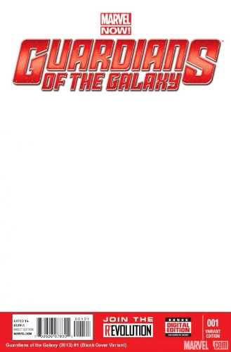 Guardians of Galaxy #1 Blank Var Now
