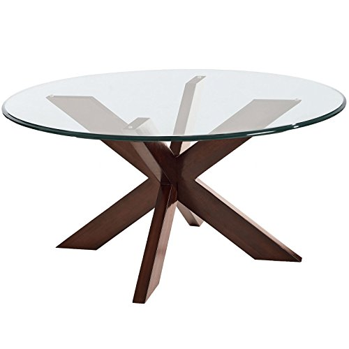 thick round tempered and beveled clear glass dining table top replacement 48 inch x 1 2 inch. Black Bedroom Furniture Sets. Home Design Ideas
