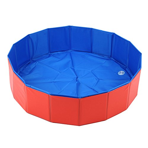 Lalawow SO COOL Foldable Pet Swimming Pool Bathing...
