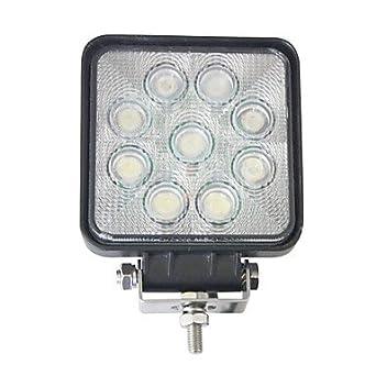 Liancheng® 4' 27W 2160 Lumens Super Bright Square LED Work Light for Off-road,Tractor,UTV,ATV ( Light Source Color : White )