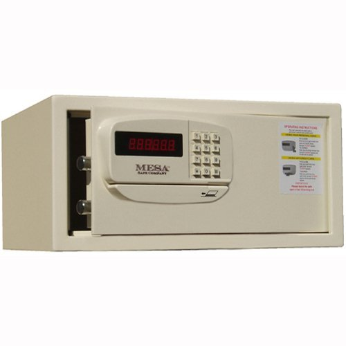 9'' H Residential & Hotel Burglary Safe with Electronic Lock