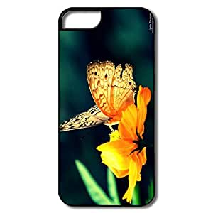 IPhone 5S Cases, Butterfly Flower White/black Covers For IPhone 5S