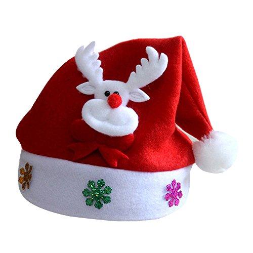Dog Shredder Costume (Happy Hours - Stylish Soft Deer Hat for Children Christmas Holiday Party Celebration(Deer))
