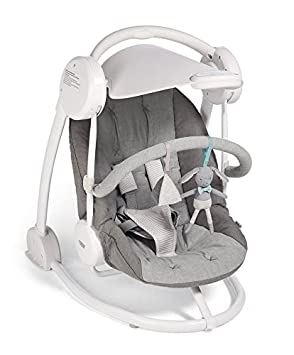 09ea4bb530a Mamas   Papas Musical Starlite Swing Chair - Grey Melange   Door Stopper  Package - From