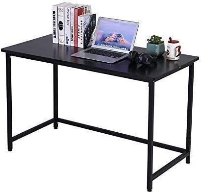 KKTONER Computer Office Desk 47″ Modern Simple Computer Table Study Writing Desk
