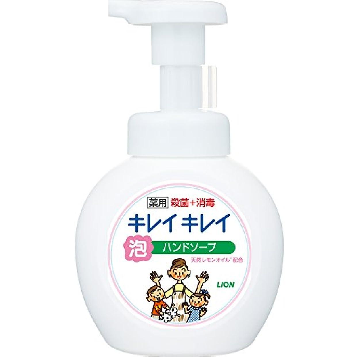 スチュワーデスネコ自動車キレイキレイ 薬用 泡ハンドソープ シトラスフルーティの香り 本体ポンプ 250ml(医薬部外品)