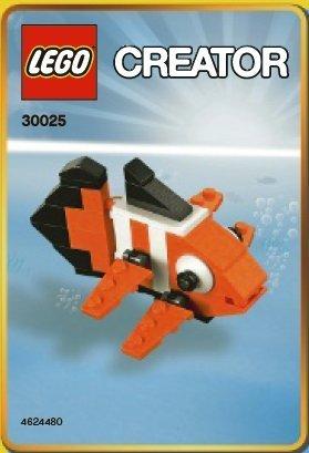 LEGO Creator Mini Figure Set Clown Fish 30025 (Figure Creator Lego Mini)