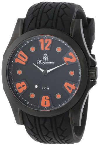 Burgmeister Men's BM606-622B Black Spirit Analog Watch