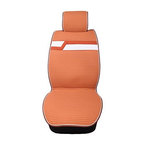 Yellow Leather Mustang Car Seat Covers Full Set SUV Seat Belt Airbag Compatible Universal Fit Land Rover Discovery Evoque Freelander LR4 Range Rover Sport/Porsche Cayenne Macan/Mini Cooper Countryman (Range Sarah)