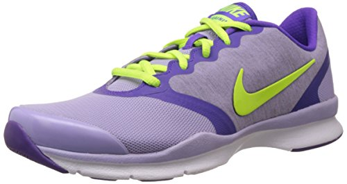 Nike In-Season TR 4 Womens Cross Training Shoes (Hydrangeas/Hyper Grape/Cool Grey/Volt, 8.5) (Cool Womens Nike Tennis Shoes compare prices)