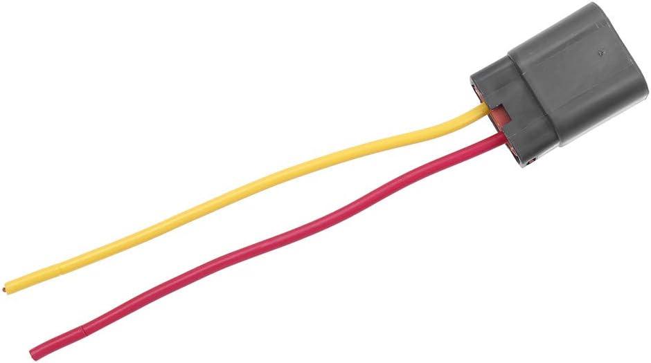 Generator Stecker//Alternator Plug f/ür Bosch Hitachi Mitsubishi Ford Holden Nissan Hyundai 2 PIN Stecker Sicher und Zuverl/ässig