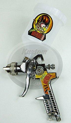 Lil' Daddy Roth Metal Flake HVLP Spray Gun - Flake Bomber - 2.5mm Tip - Metal Flake Spray