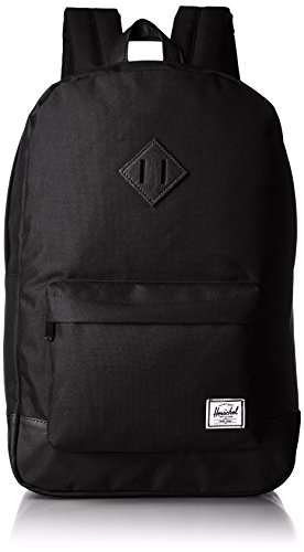 41xvWSEnO7L - Herschel Heritage Backpack, Black/Black