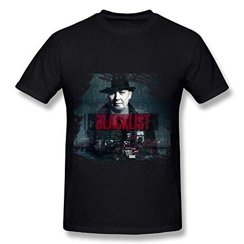 SP The Blacklist Cotton T Shirt For Men Black (A List Cotton T-shirt)