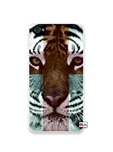 iphone covers Tiger Hipster Cross Quote iPhone 6 4.7 Quality Hard Snap On Case for Iphone 6 4.7 4G - AT&T Sprint Verizon - White Case Cover