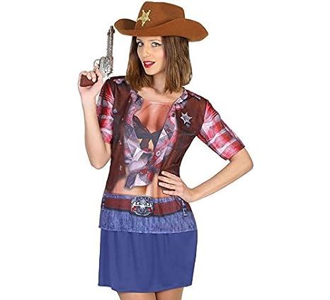 Atosa-14667 Camiseta Vaquera Color marrón M-L (14667  Amazon.es  Juguetes y  juegos 6e236909284