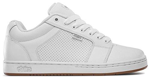 Etnies Men's Barge XL Skateboarding Shoes White JScmW