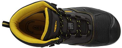 a39eb4cc4d6 KEEN Utility Men's Logandale Waterproof Boot,Raven/Black,7 D US