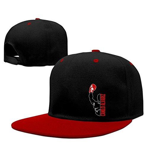 Custom Unisex-Adult Boxing Champions CA Adjustable Summer Cap Hat Red