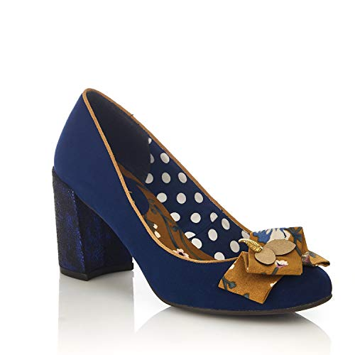 Marine Sandales Shoo Bleu Compensées Femme Ruby 6fFHZpw
